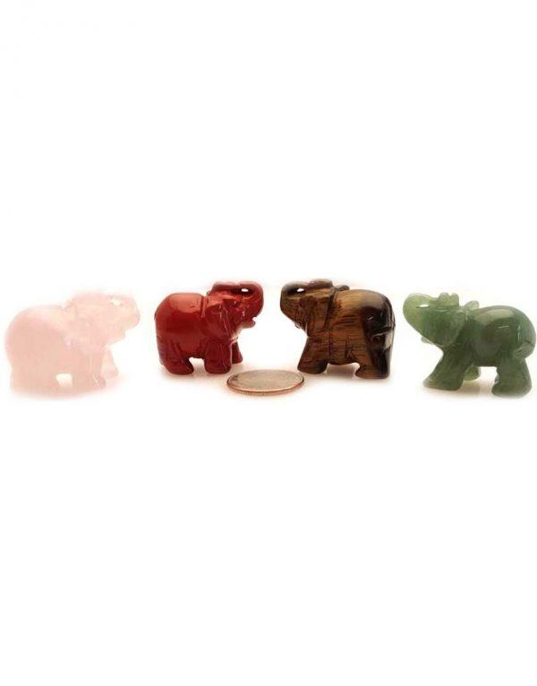 Elephant various stones