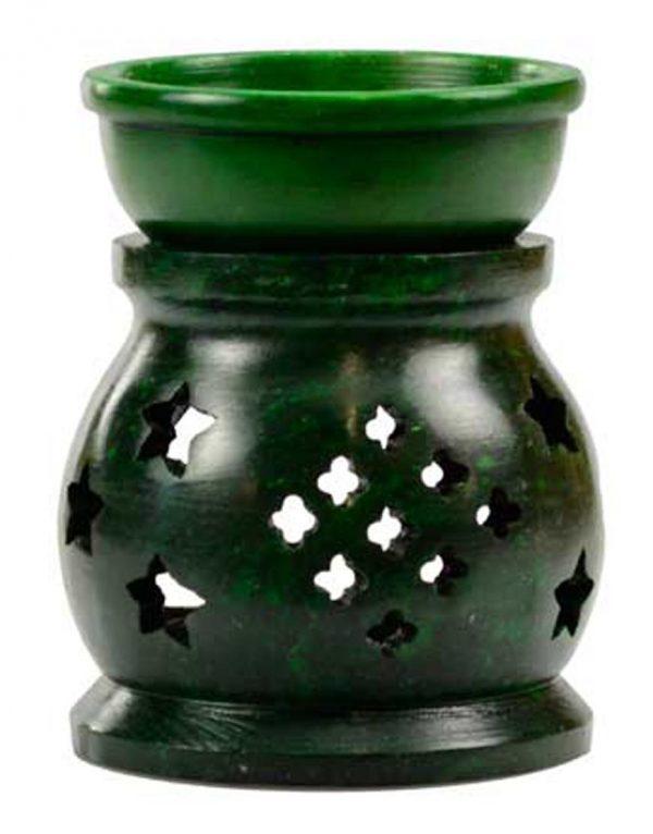 Green Soapstone Oil Diffuser
