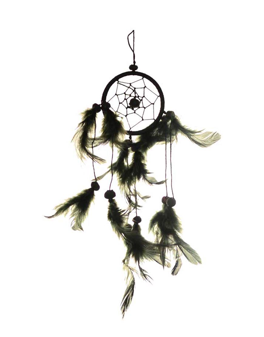 3-Black-dream-catcher