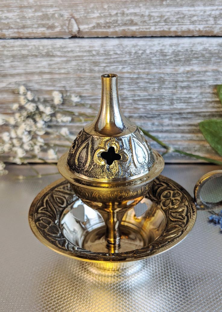 Brass Incense Burner