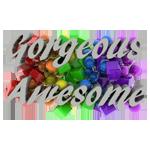 Gorgeous Awesome Logo