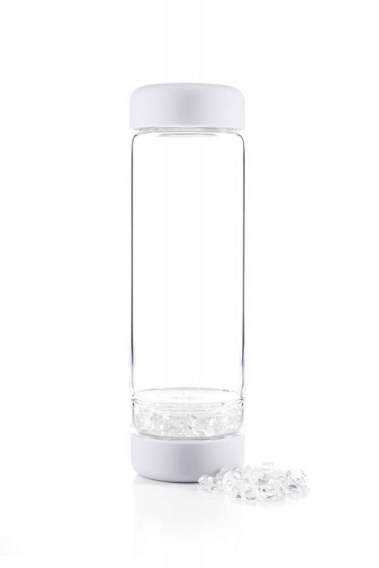 Inu Crystal Cloud White Bottle