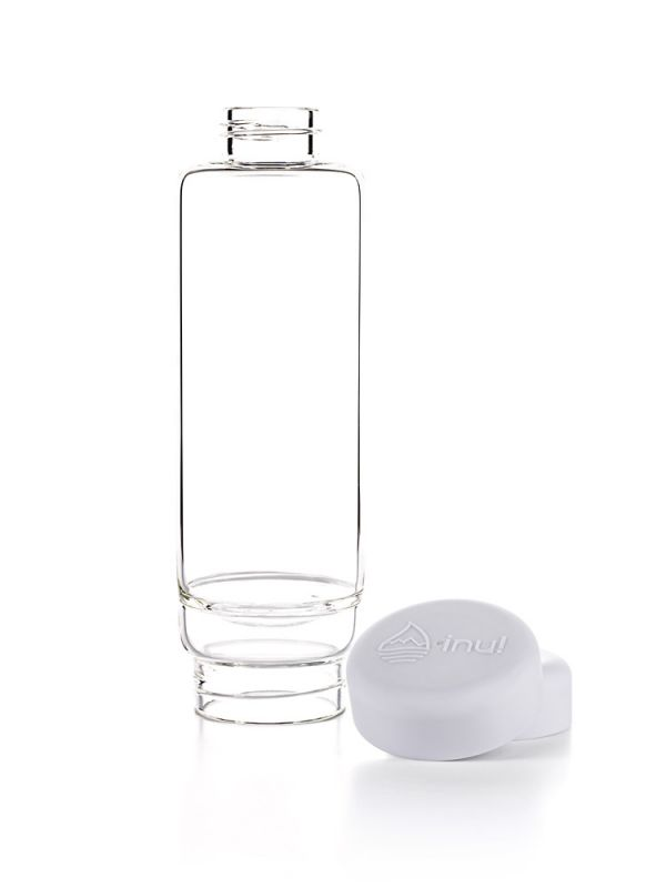 Inu Gemwater Bottle Cloud White