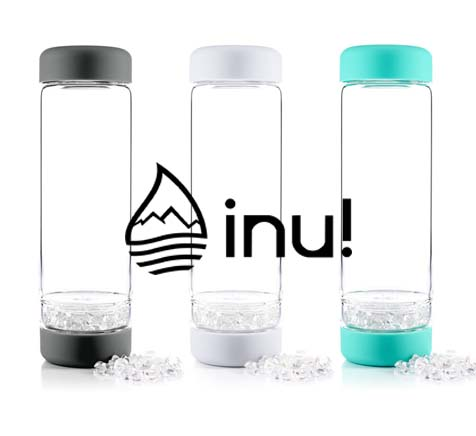 inu DIY Gem Water Bottle