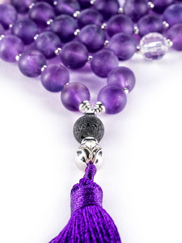 BODHI CHARMS MALA NECKLACE